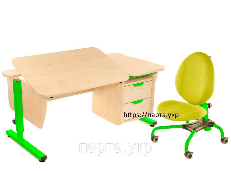 Детская парта с креслом (цвета разные)