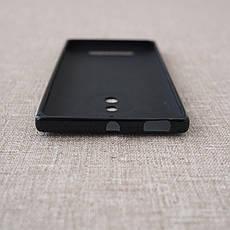 Чехол Silicon New Line X Nokia 830 black, фото 2