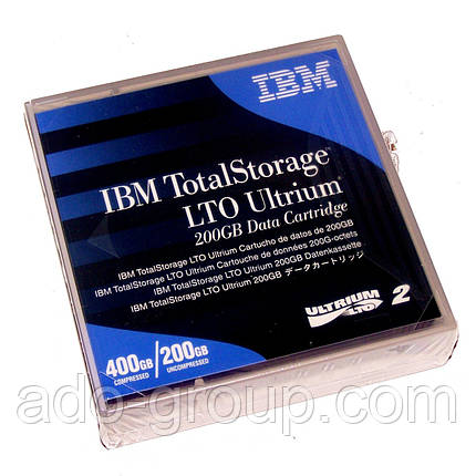 08L9870 Картридж IBM LTO-2 Ultrium Data Cartridge, фото 2