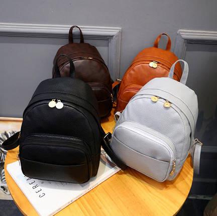 Стильний Fashion рюкзак з мармуровим відтінком, фото 2