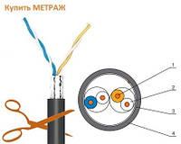 Кабель витая пара FTP-cat.5 Одескабель OK-net КППЭ-ВП 2х2х0,51 мм