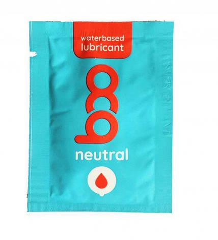 Лубрикант Boo Waterbased Lubricant Neutral, 2,5 мл., фото 2