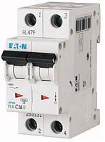 Автоматический выключатель Eaton PL4-C50 Ампер, 2 полюсный