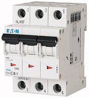 Автоматический выключатель Eaton PL4-C16 Ампер, 3 полюсный