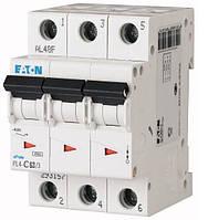 Автоматический выключатель Eaton PL4-C63 Ампер, 3 полюсный