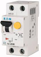 Дифференциальный автомат Eaton PFL6-16А/1N/C/0,03А