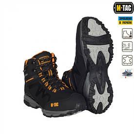 Ботинки треккинговые M-TAC SoftShell черные