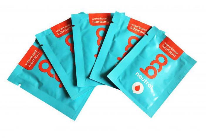 Набор лубрикантов Boo Waterbased Lubricant Neutral,  5ш. по 2,5 мл., фото 2