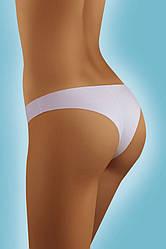Трусики женские безшовные белые бразилиана 9201 Mickey S, L, XL