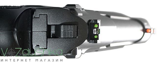 Целик и мушка Borner Sport 306M оснащены фибероптикой