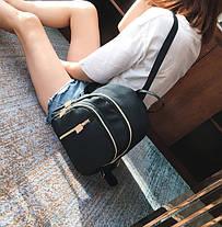 Небольшой тканевый водонепроницаемый рюкзак, фото 3
