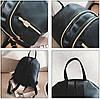 Небольшой тканевый водонепроницаемый рюкзак, фото 4
