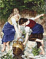 """Набор для вишивания гобелена """"Luca-S"""" G564 У фонтана"""