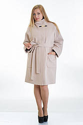Зимнее пальто свободного кроя в 6-ти цветах