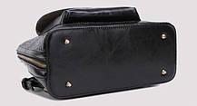 Дизайнерский женский рюкзак-сумка под крокодил , фото 2
