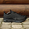 "Мужские кроссовки Nike Air Max 97 ""Black"" (Найк Аир Макс) черные, фото 4"