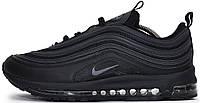 """Мужские кроссовки Nike Air Max 97 """"Black"""" (Найк Аир Макс) черные"""