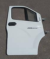 Двері передня права ГАЗель Next ГАЗ(А21R23-6100014) (пр-во ГАЗ) б\у, біла зі склом в ідеальному стані, фото 1