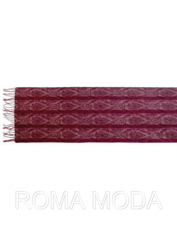 Теплый мужской шарф с узором U42-5570
