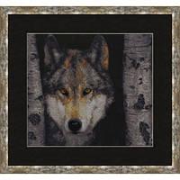 """Набор для вышивания крестом ТМ Золотое Руно """"Волк. Дикие животные """" ДЖ-025"""