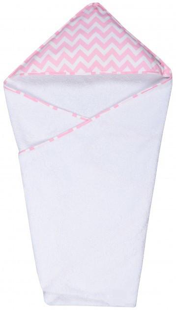 Дитячий рушник GoforKid з куточком Pink LC 95х95 см (1330-220-993-1)