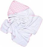 Дитячий рушник GoforKid з куточком Pink LC 95х95 см (1330-220-993-1), фото 3