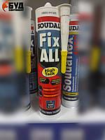 Soudal Fix All High Tack Гибридный клей-герметик картридж 290 мл (белый)