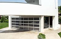 Секционные ворота kruzik 3250x2100 дизайн ALU SW, фото 1