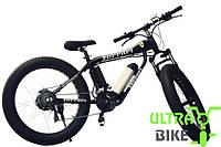Фэтбайк велосипед электронный мощность 350 Вт с широкими колесами FERRARI FATBIKE + LCD