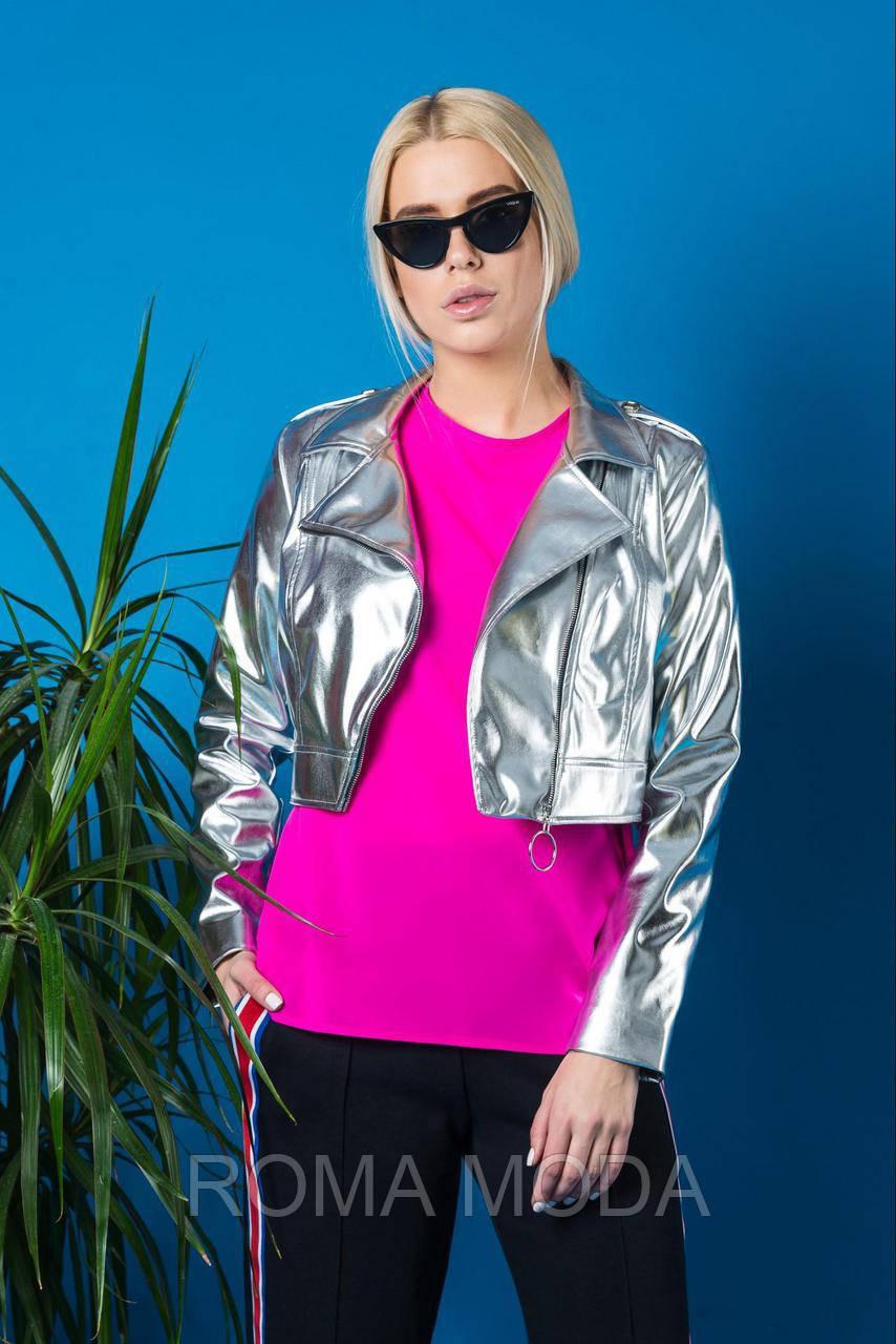 Модная куртка женская из эко-кожи VMR 51919