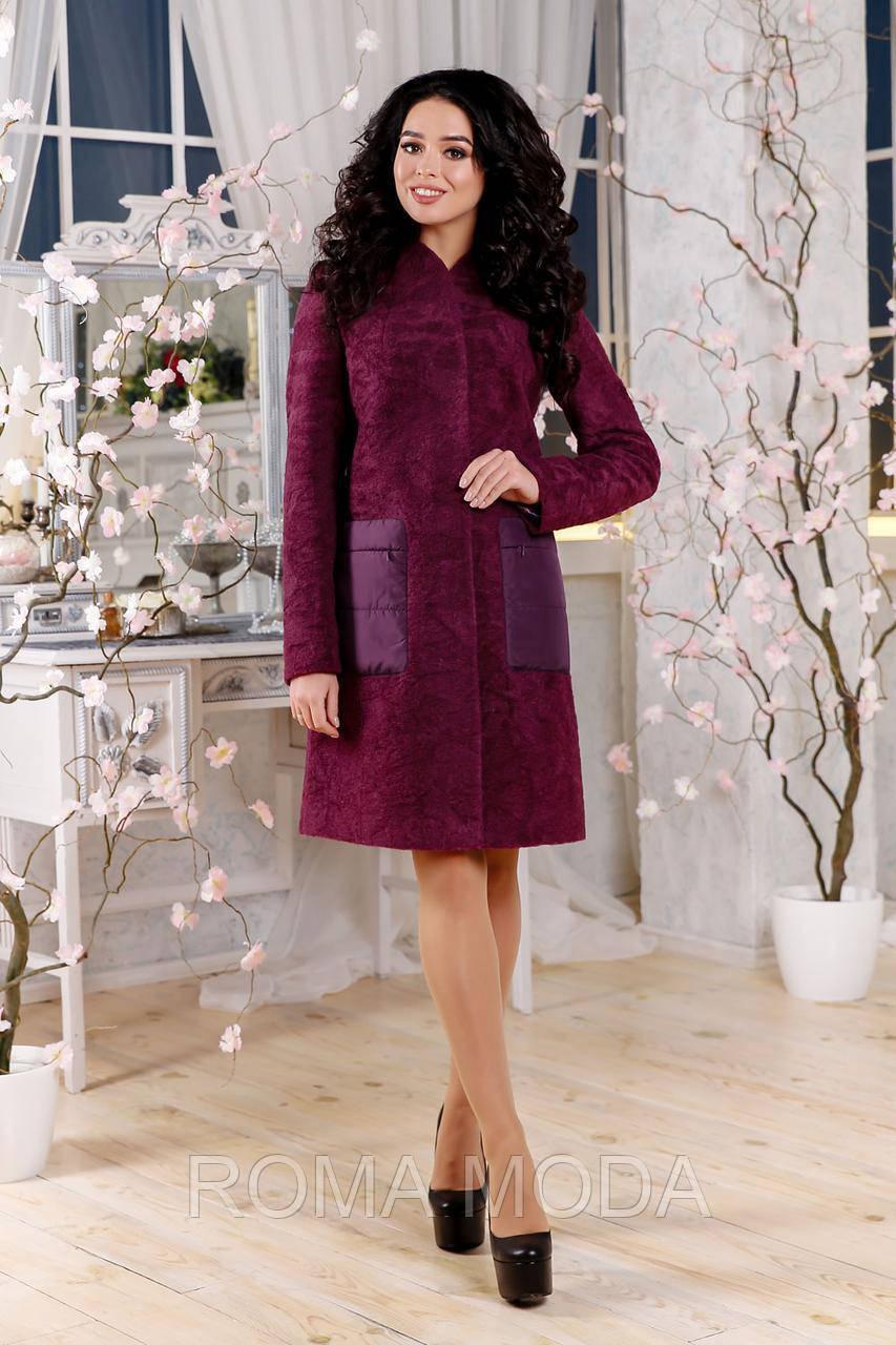Женское демисезонное пальто В-1108 PE