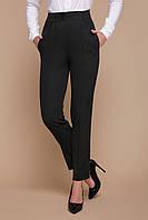 Черные женские брюки с завышенной талией