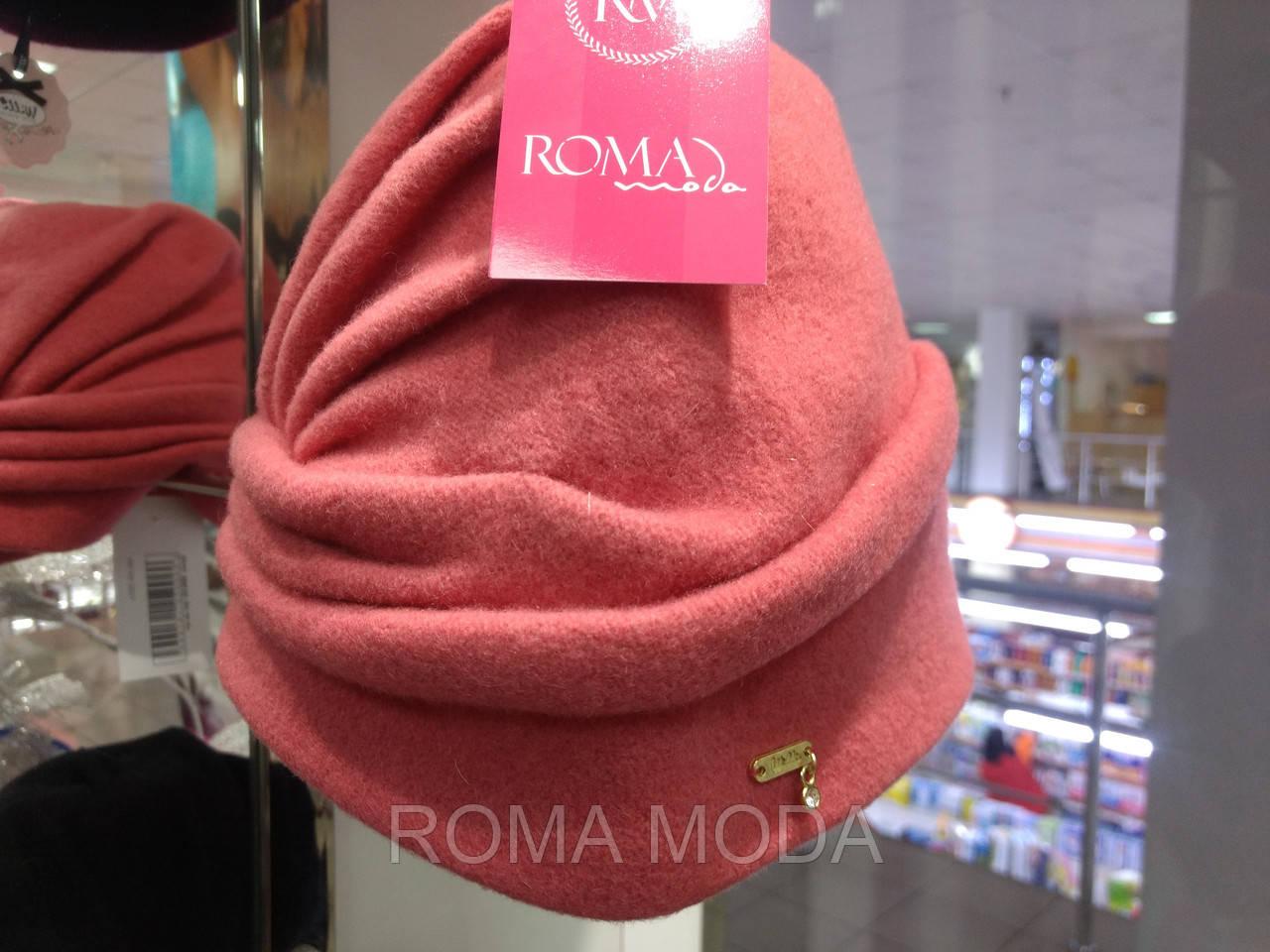 Модная женская шапка-бандана HALKA ягода