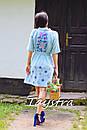 Плетеная Сумка ручной работы декорированная в этно стиле, фото 5