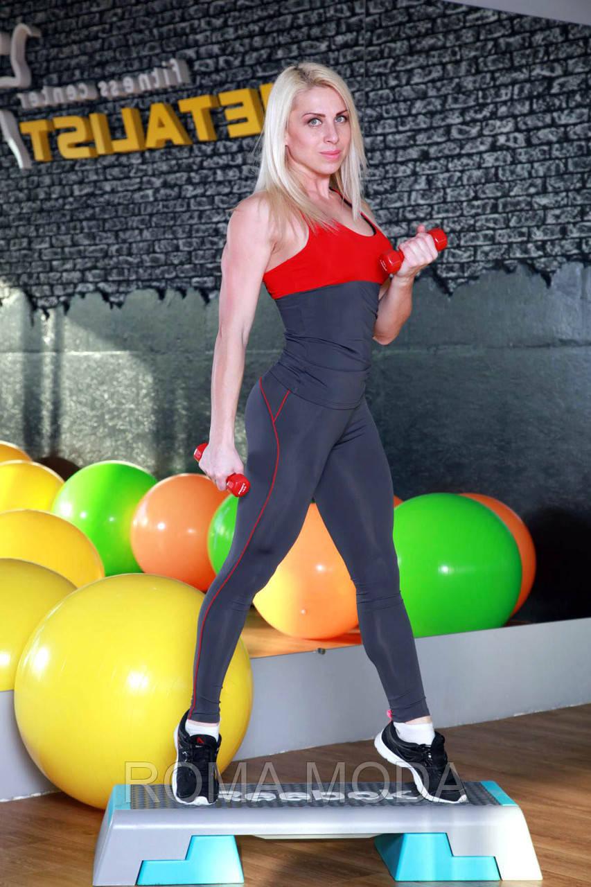 Женские лосины для фитнеса в 6ти цветах SD11
