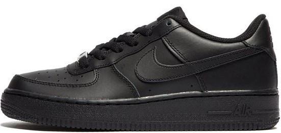 """Мужские кроссовки Nike Air Force 1 Low """"Black"""" (Найк Аир Форс) черные"""