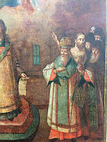 Икона Покрова Пресвятой Богородицы 18 век, фото 2
