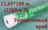 Агроволокно Agreen П-19 12,65*100 м. (1265 м.2) Укрепленный край