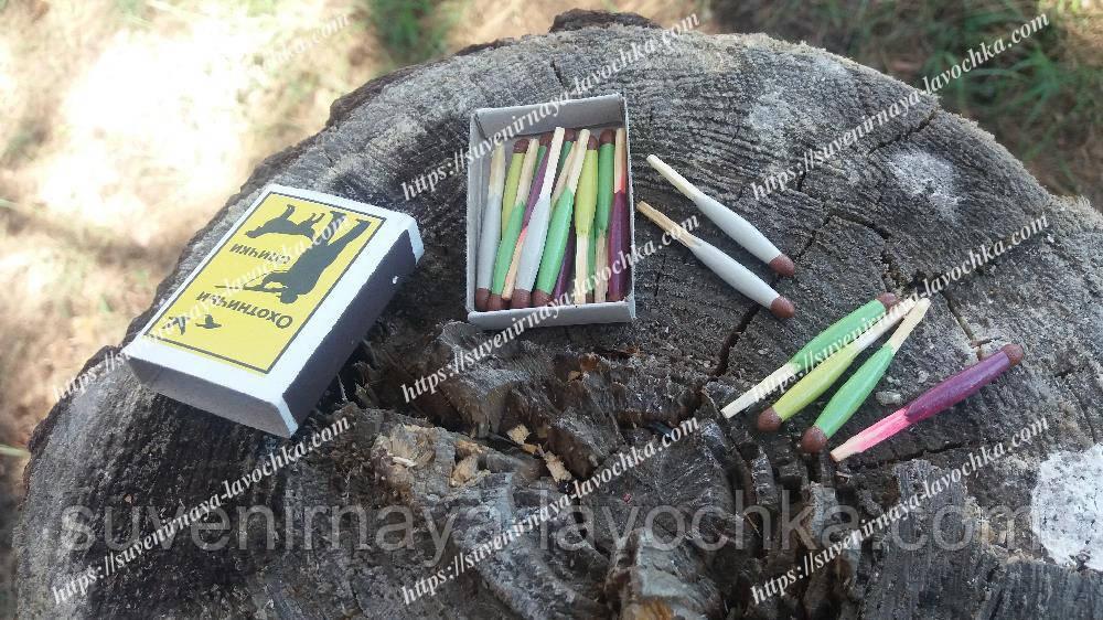 Спички для охотника и рыбака, влагостойкие, помогут разжечь костер в любую погоду