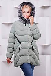 Женское зимняя куртка с натуральным мехом в 9ти цветах ML-089п