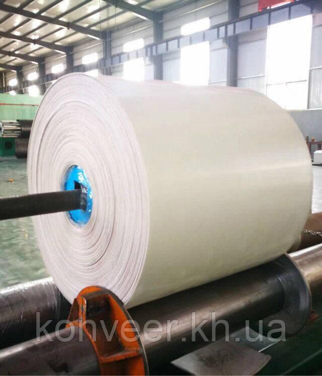 Транспортерная лента белая пищевая 800х3 ПТК200 3/1