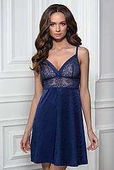 Кружевная ночная рубашка 8114/43 Carmela blue M, L