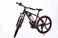Стильный велосипед электрический PORSCHE BRAND BIKE CARBON мощность електродвигателя 250 Вт