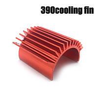 Радиатор на мотор радиоуправляемого автомобиля. Формат 380, 390