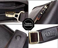 Качественная кожаная сумка Polo , фото 1