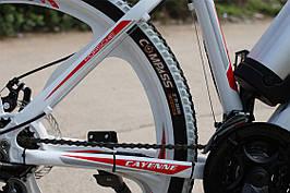 Стильный велосипед электрический PORSCHE BRAND BIKE CARBON мощность електродвигателя 250 Вт  Белый