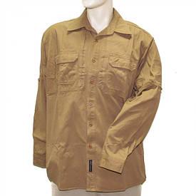Рубашка тактическая США длинный рукав койот