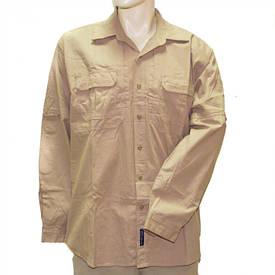 Рубашка тактическая США длинный рукав хаки