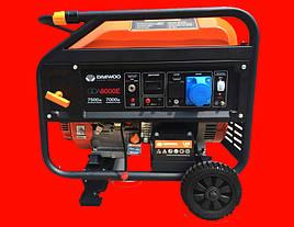 Бензиновый генератор Daewoo GDA 8000E на 7,5 кВт