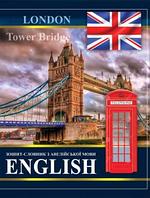 Тетрадь-словарь по английскому языку, 40 л + ГРАММАТИКА / Лондон